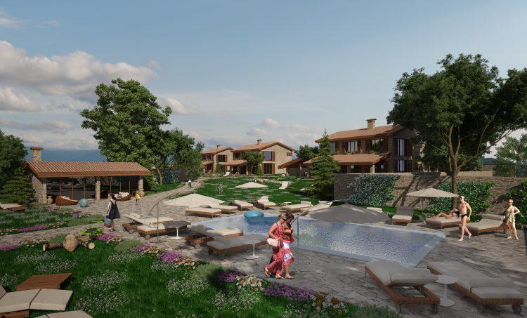 Ваканционен комплекс – къщи за гости